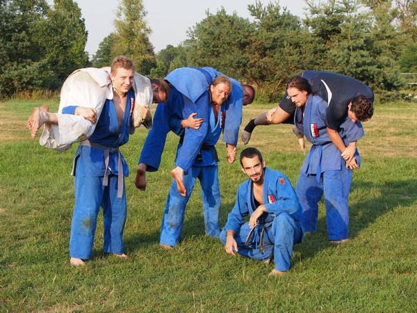 trening siłowy obóz letni mma