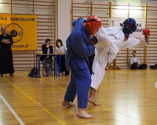 walka w stójce jiujitsu
