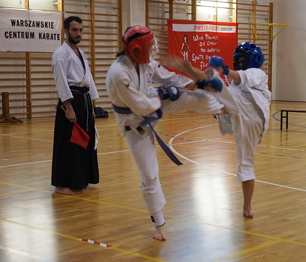 kumite sparing turniej warszawa