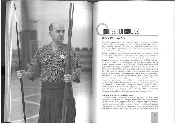 interview karate budo