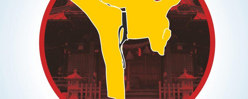 plakat Warszawski Turniej Karate 2018