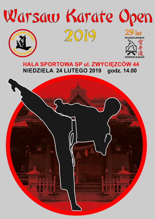 Warsaw Karate Open 2019 web plakat
